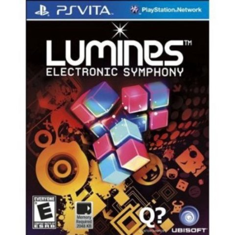 Sony PS Vita Lumines: Electronic Symphony (русская документация)