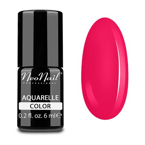 NeoNail Гель-лак акварельный UV 6ml Raspberry Aquarelle №5507-1