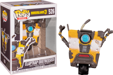 Фигурка Funko Pop! Games: Borderlands 3 - Claptrap (Distressed)