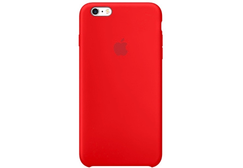 Apple iPhone 6/6S Plus Чехол Silicon Case (Красный)