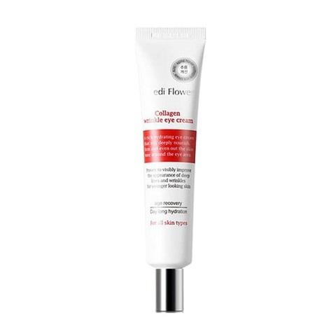 Крем для кожи вокруг глаз с коллагеном витализирующий Medi Flower Collagen Refining Wrinkle Eye Cream 40мл
