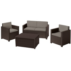 Комплект уличной мебели Allibert Monaco set