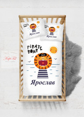 КПБ Adore Satin Pirate