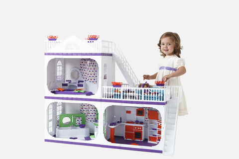 Кукольный домик Огонек Коттедж