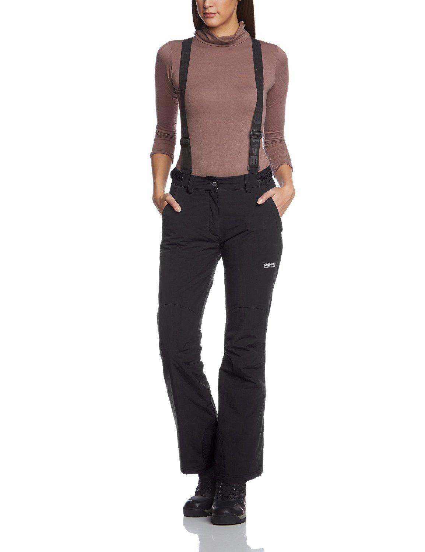 Женские горнолыжные брюки 8848 Altitude WANNA black (679408) спереди