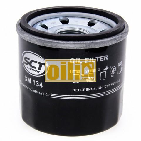 Фильтр масляный SCT SM134 (Ford, Mazda, Nissan)