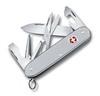 Нож перочинный Victorinox Pioneer X 93мм 9 функций алюминий серебристый (0.8231.26) нож перочинный victorinox edelweiss 0 6203 840 58мм 7 функций дизайн рукояти эдельвейс