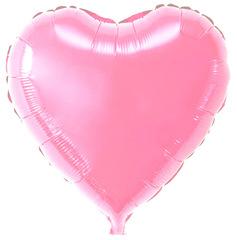 Воздушный шар Сердце (Розовое)
