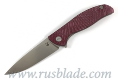Shirogorov HATI-R M390  Alutex Dark Cherry MRBS
