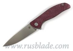 Shirogorov HATI-R M390  Alutex Dark Cherry MRBS
