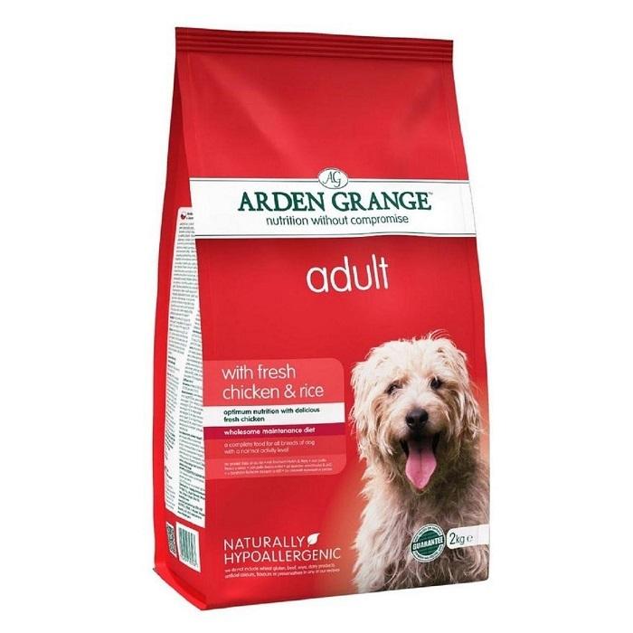 Каталог Сухой корм для взрослых собак, Arden Grange Adult chicken & rice, с курицей и рисом AG603287.jpg