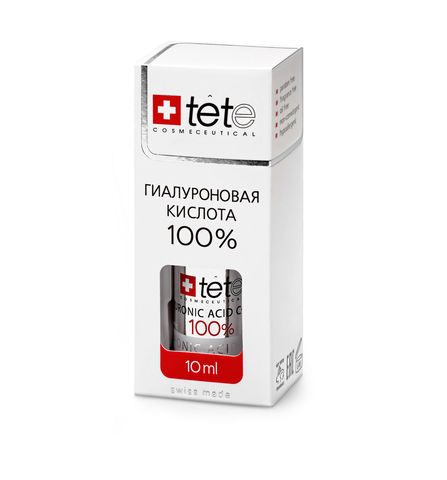 МИНИ 100% Гиалуроновая кислота мини / TETe MINI Pure Hyaluronic acid 10 ml
