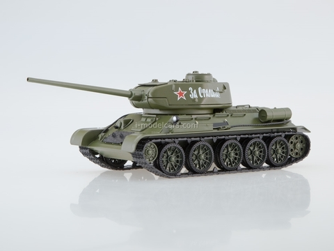 Tank T-34-85 Soviet medium 1:43 Our Tanks (limited edition)