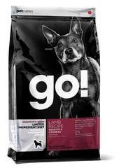 Корм для щенков и взрослых собак, GO! Natural holistic, Sensitivity + Shine LID Lamb Dog Recipe, Grain Free, Potato Free, беззерновой, с ягненком для чувствительного пищеварения