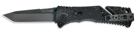Купить Складной нож SOG Мод. TRIDENT TANTO BLACK 97029 по доступной цене