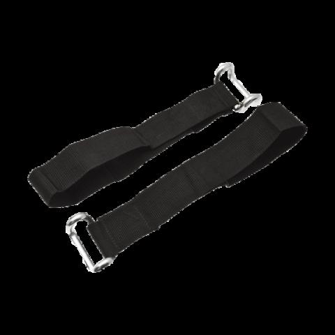 Ремень с крюком из круглого профиля для замка