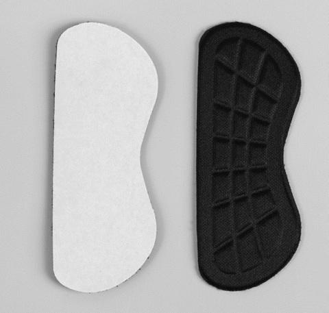 Рельефные пяткоудерживатели для туфель на клеевой основе, 1 пара