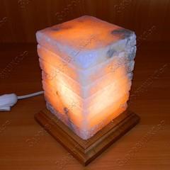 Солевая лампа Зебра
