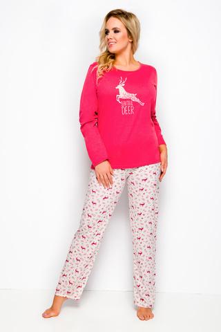 Пижама 8W Ala 2241 Dark Pink Taro