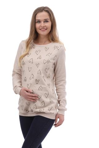 Блузка для беременных и кормящих 10000 песочный