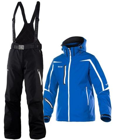 Костюм горнолыжный 8848 Altitude Savage Ski Softshell/Kers мужской Blue/Black