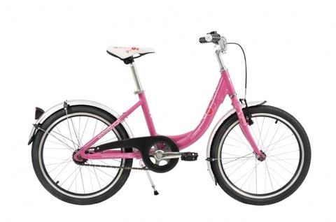 детский велосипед Corto KITI 2020 розовый
