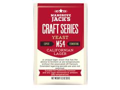 Дрожжи Mangrove Jack's Craft Californian Lager M54