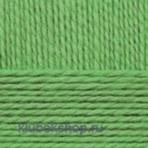 Пряжа Конкурентная 434 Зеленый (Пехорка) - купить в интернет-магазине недорого klubokshop.ru