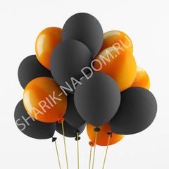 Облако Черно-Оранжевых шаров