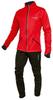 Детский утеплённый лыжный костюм Nordski Premium Red-black