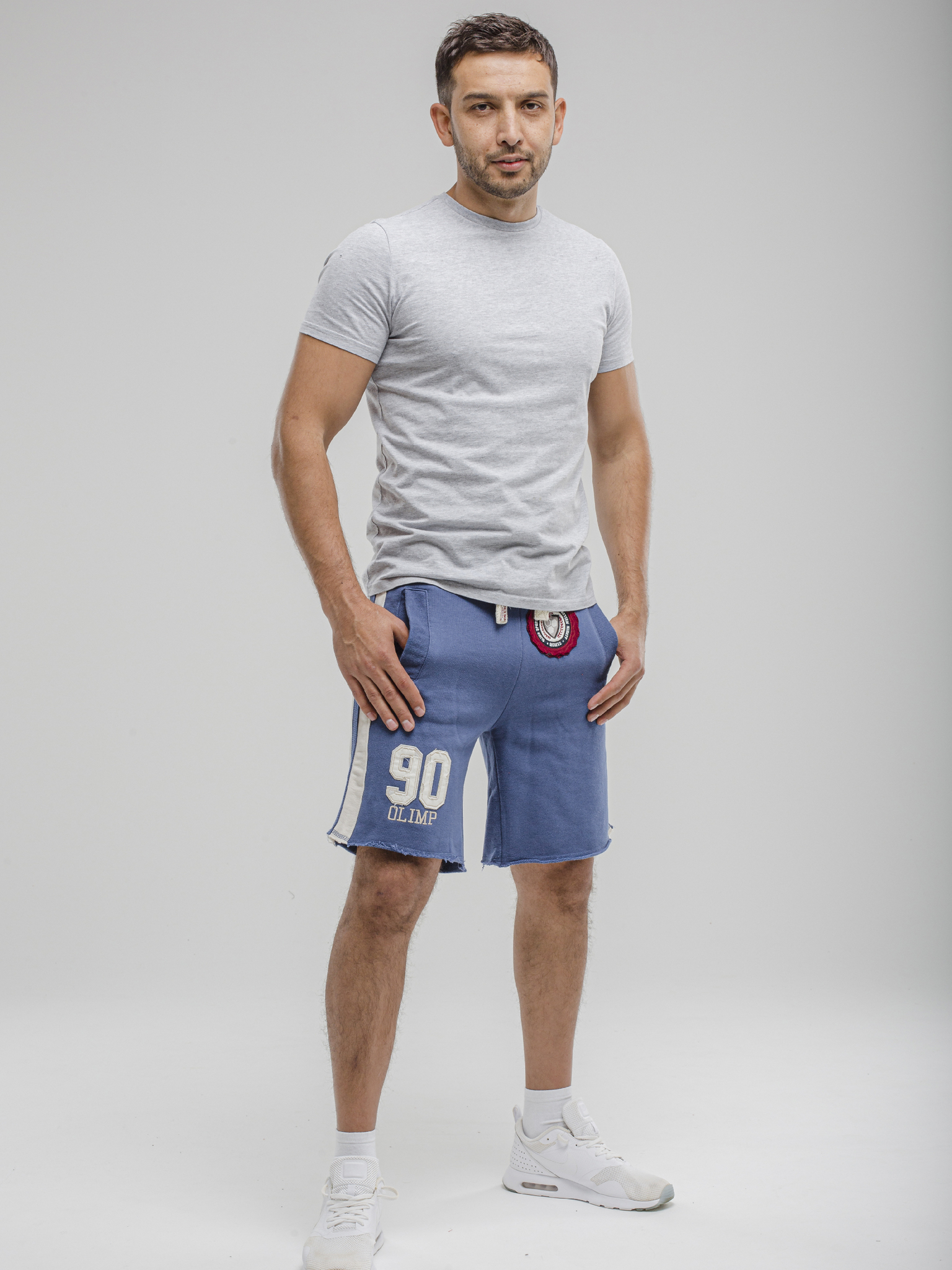 Мужские шорты Olimp HERITAGE blue