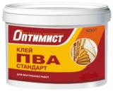 ОПТИМИСТ К501 Клей ПВА Стандарт морозостойкий 10кг