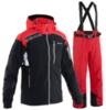 Мужской горнолыжный костюм 8848 Altitude 710808-712203 черный-красный
