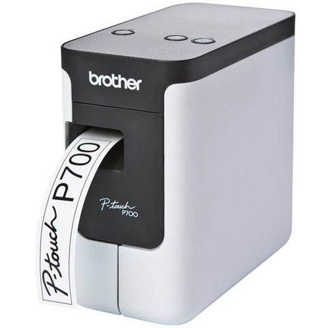 Принтер для печати наклеек Brother PT-P700 (настольный, авторучка, ленты от 3,5 до 24мм, до 30 мм/сек, 180dpi, БП, USB) - PTP700R1