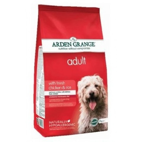 ARDEN GRANGE ADULT DOG CHICKEN & RICE 12 кг