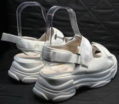 Жиночи босоножки білі спорт Small Swan PM23-3 White.