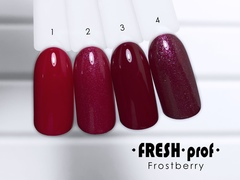 Гель-лак  Fresh prof Frost Berry FB №01