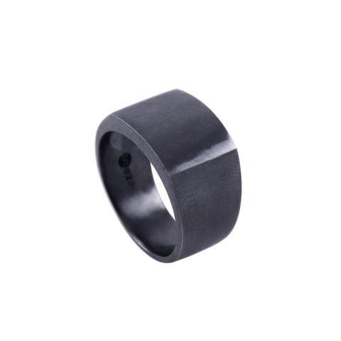SIGNET RING II - BLACK
