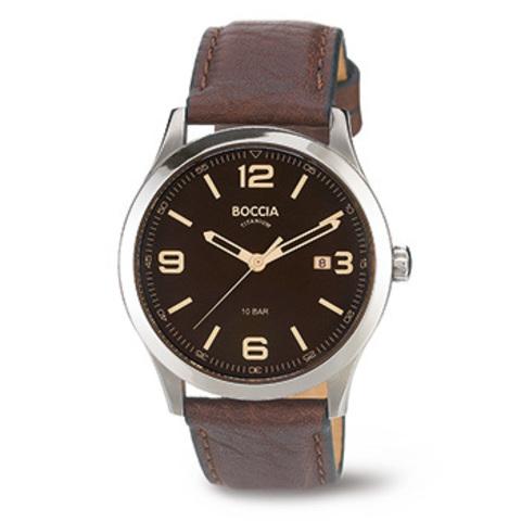 Купить Мужские наручные часы Boccia Titanium 3583-01 по доступной цене
