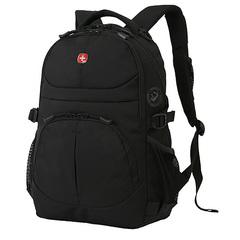 Рюкзак Wenger, черный, 33х15х45 см, 22 л