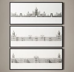 18th C. Palace Elevations Collection
