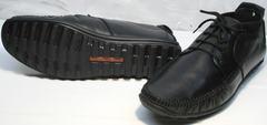 Купить мокасины мужские кожаные Ikoc 112-1Black