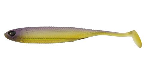 Виброхвост LJ 3D Series Makora Shad Tail 5.0in (12,7 см), цвет 004, 4 шт.
