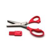 Ножницы с &#34мульти-лезвиями&#34, артикул 18LF-1005-R, производитель - Atlantis