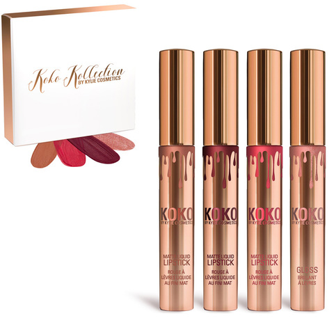 Набор помад Kylie Koko Kollection 4 шт