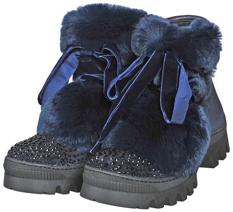 7839BD01 BLU ботинки женские Marzetti