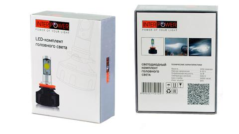 Светодиодные лампы INTERPOWER HB3 30 W (белый свет)