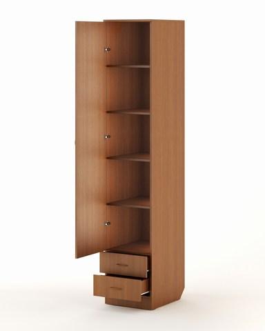 Шкаф-пенал АЯС-04 бук темный