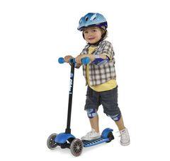 Детский Самокат Yvolution Glider Deluxe синий