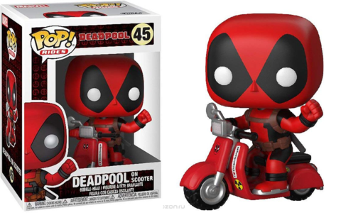 Фигурка Funko POP! Rides: Deadpool: Deadpool  Scooter 30969